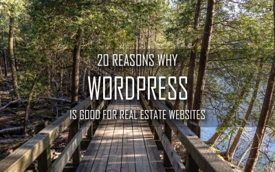 20 Reasons why WordPress is Good For Real Estate Websites